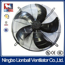 UL approval air conditioner ventilation fan with external rotor motor 380V