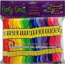 cotton bracelet thread for kid's DIY knitting,cotton thread