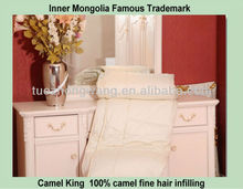 Warm camel wool comforter for winter