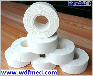 FDA approved Latex Free 100% Cotton Zinc Oxide Tape