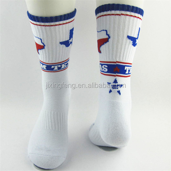 wholesale custom happy long socks sport
