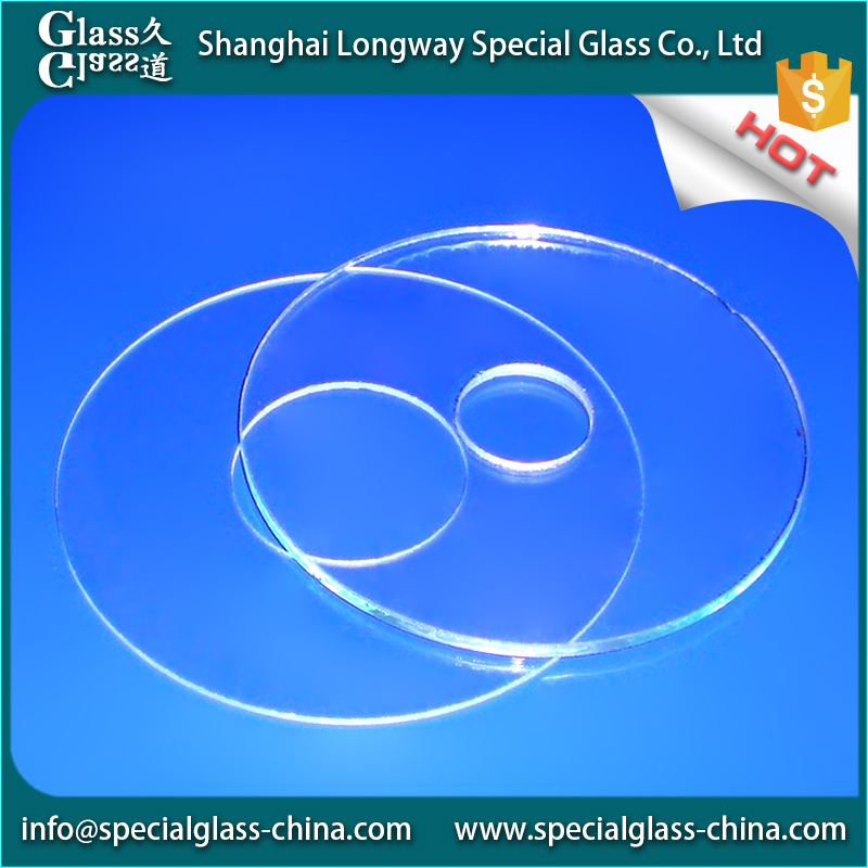 Serviceable tempered glass fitting clear float sapphire prices