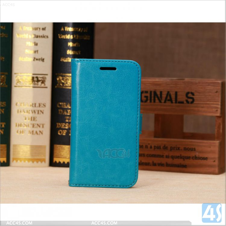 Cell Phone Leather Case Cover for Motorola MOTO E P-MOTXT1022PUCA004