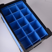 anti-static tool box with pp plastic material manufacturer in China