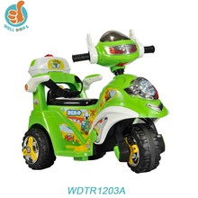 WDTR1203A Wholesale High Power Scooter Motorcycle, Ride On Electric Car For Kids With Three Wheels