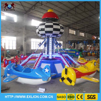 2016 Theme Park And Funfair Popular Kids Self Control Plane Game Rides For Sale