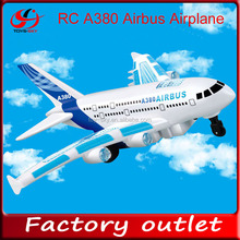 Music Flashing A380 Remote Control airplane rc airplane rc airplane airbus a380
