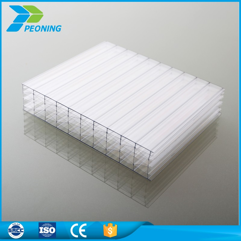 Greenhouse coverings materials compact polycarbonate greenhouse siding honeycomb panels sheet price