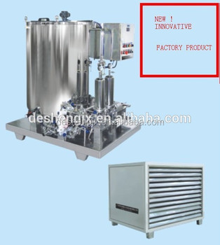 Guangzhou Desheng machinery and equipment 100L perfume manufacture machine perfume freezing machine made in China