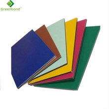 Greenbond popular best-sell cheap pvdf aluminum trailer side wall panel