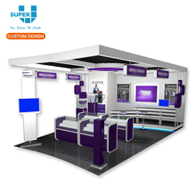 Customized Good Quality Mobile Cell Phone Shop Display Showcase Store