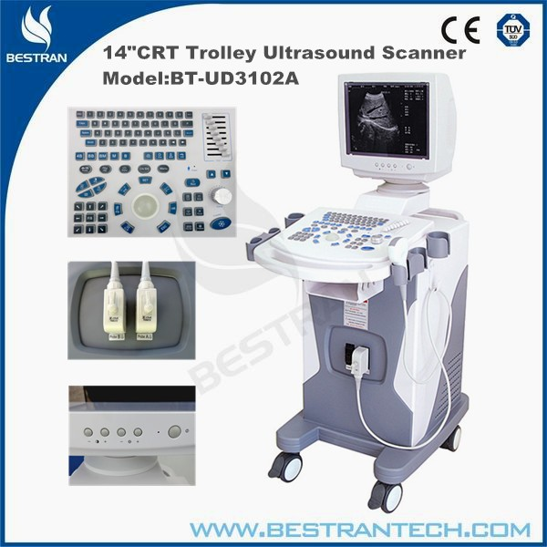 China BT-UD3102A Hospital Digital Trolley Ultrasonic Diagnosis System ultrasound diagnostic instruments