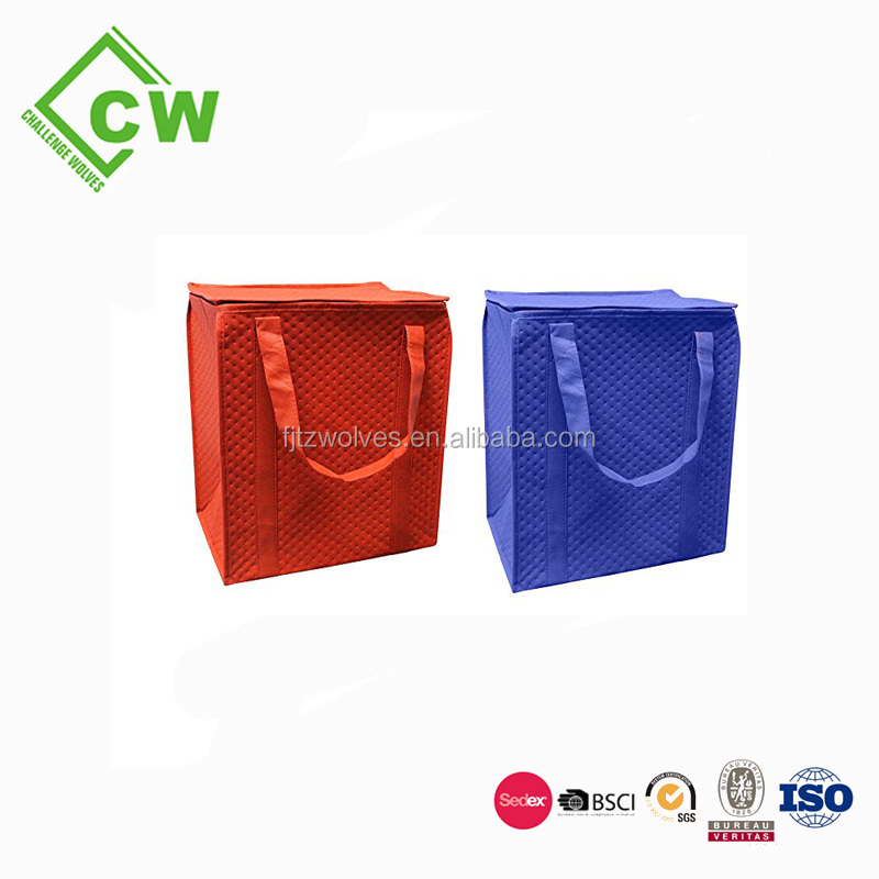 cheap pp shopping bag for frozen food , good quality hot sale the cheapest cooler bag