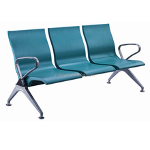 polyurethane 3-seater gang chair price airport waiting chair