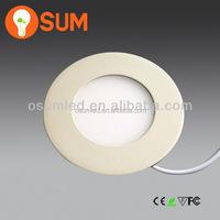 Round led panel light for bathroom kitchen light modern Acrylic ceiling light fittings