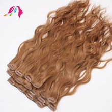 220g remy clip in hair extensions for white women