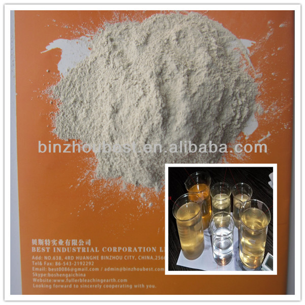 Favorites Compare China Activated Bleaching Clay /Fuller Earth for Used Oil Processing and Decolorizing