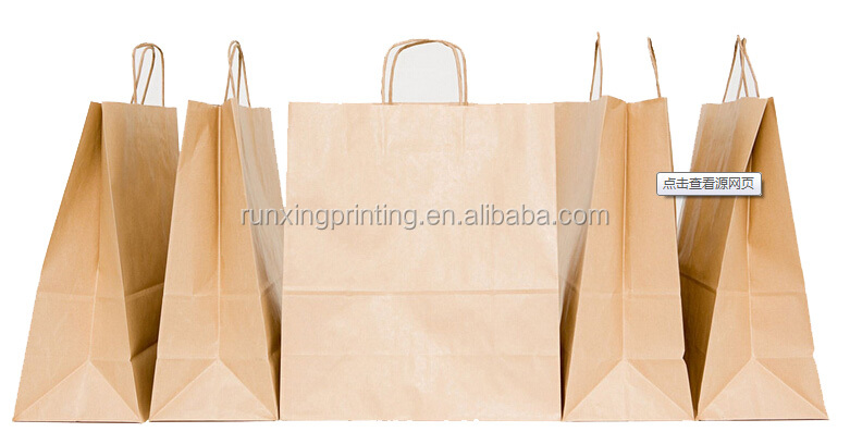 OEM bag,Shopping use art paper, kraft Material paper bags for various sizes