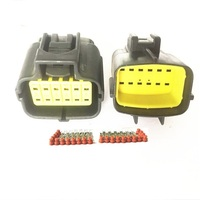174661-2 174662-7 174655-2 Tyco/Amp Waterproof Electrical Wiring Multi Connector 2 3 4 6 10 12 Way Pin