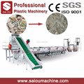 pp pe films crushing washing drying and recycling line