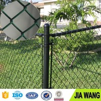 6ft pvc coating galvanized chain link fence for the garden and sports field