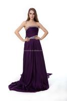 2013 white beading latest design formal evening gown evening dress long wholesale clothing designer evening gowns