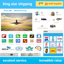 Cheap rates door to door Amazon Fba/alibaba express Air shipping from China to Ahmedabad
