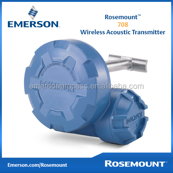 Emerson Rosemount 708 Acoustic Transmitter & Steam Trap Monitor wireless transmitter