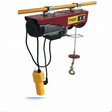 Single Phase 220V Pulling Winch Hoist Wire Rope HGS-B Electric Hoist