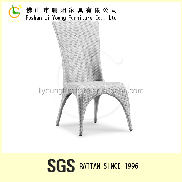 Home furniture dining room table dinner table set waterproof outdoor armless rattan dining chair