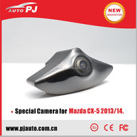Special CMOS Car Wide Angle Waterproof IP67 Front View Camera for Mazda CX-5 2013/14