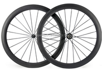super light 700C carbon fiber chinese 23mm wide road bicycle clincher wheel 50mm