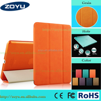 Good quality tablet cover leather case for Apple iPad Air