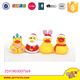 Rubber bath duck playing for baby lovely duck swimming toys