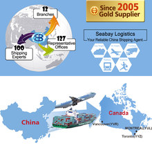 International logistics freight forwarder shipping company agent service rates from china to canada