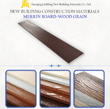 cement panel wood grain exterior wall cladding