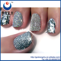 ShengZhu Silver Irregular Shape Glitter Powder For Nail Polish