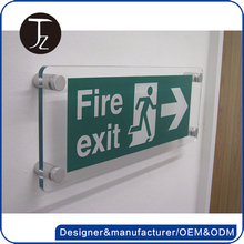 Casting Craftsman HOT Selling Photoluminescent Emergency Exit Safety Signs