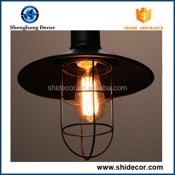 Pendant Lighting classic chandeliers iron hanging lamp wholesale in china restaurant chandeliers