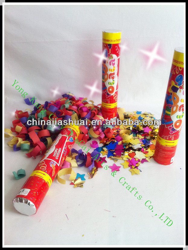 Confetti Gun Shooter Party decoration paper shooters for new year
