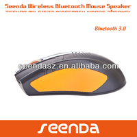 Orange Slim Bluetooth Mouse with Speak Function