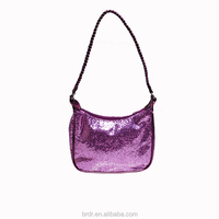 Model#GDB2088A OEM Glittery PVC Lovely Young Girls Handbags