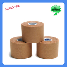 Health Care Rayon Hypoallergenic Rigid Breathable Adhesive Sports Tape