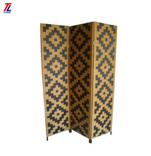 new design wholesale handmade woven cheap folding screen dividers decorative room divider