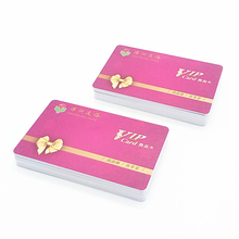 China Manufacturer Plastic Pvc gift Business card supplier