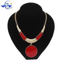 Alibaba Website Hot Jewelry Fashion Oil Drip Costume Necklace For Women