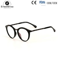 Brand High Quality Glasses Frame Round