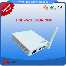 cortina chipset fiber optic network router ONU Epon 1 Fe/Ge +WIFI EPON ONU 1 GE +WIFI onu fiberhome