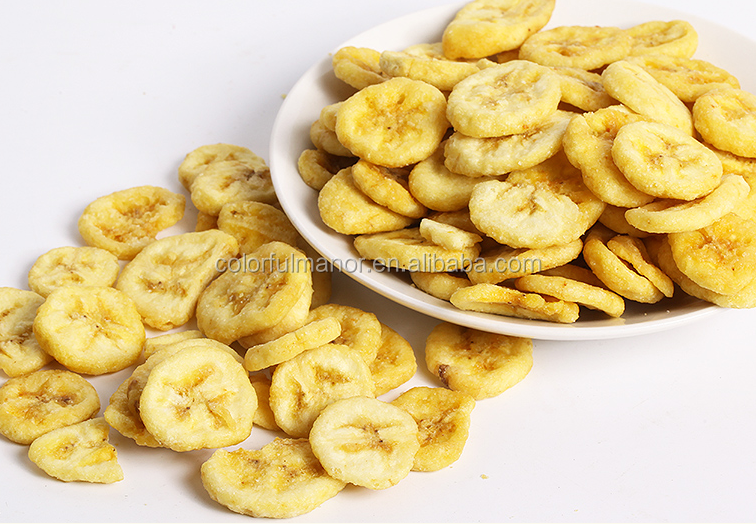 Best quality of fried banana Chips healthy snacks