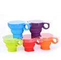 Foldable travel coffee cup take away coffee cups turkish coffee cups
